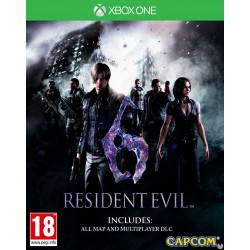 JUEGO XBOX ONE RESIDENT EVIL 6 REMASTERED