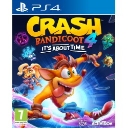 """JUEGO PS4 - CRASH BADICOOT 4 """"IT'S ABOUT TIME"""""""