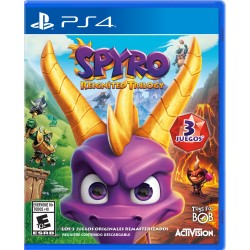 JUEGO PS4 - SPYRO REIGNITED TRILOGY