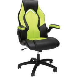 SILLA GAMER ESSENTIALS - ESS 3086 - RACING STYLE LEATHER GAMING CHAIR