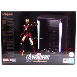 "IRONMAN MK-7 AND HALL OF ARMOR SET ""MARVEL"", BANDAI S.H.FIGUARTS"