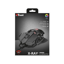 MOUSE GAMER TRUST GXT138 XRAY USB